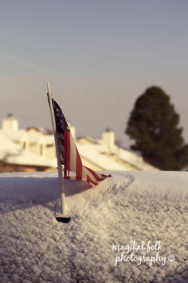 american_flag_snow_blue_sky