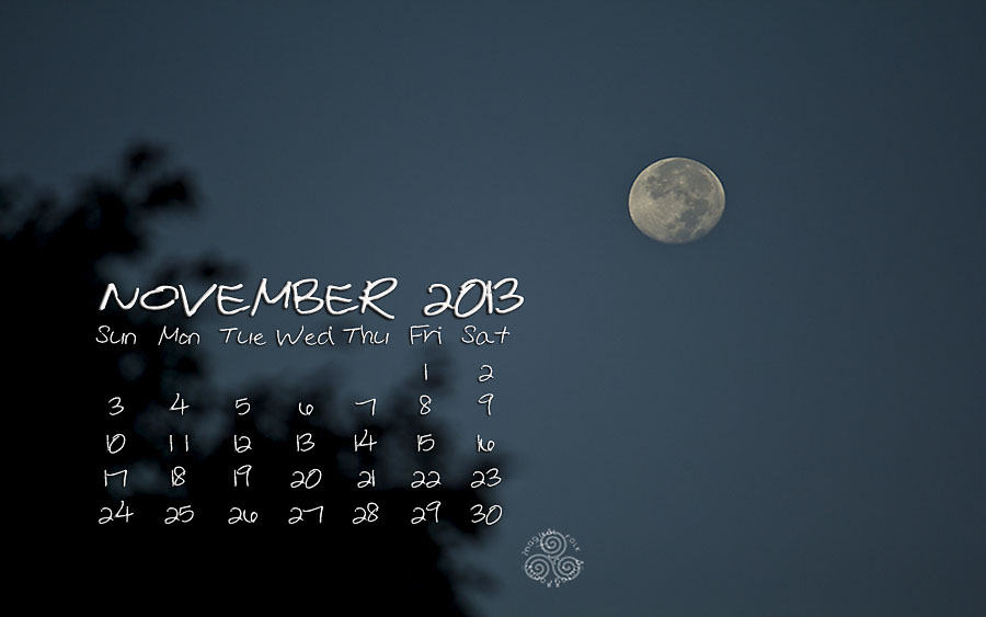 MOON NOV 2013 BLOG